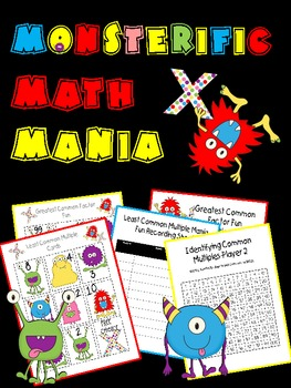 Monsterific Math Mania