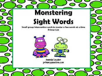 Monstering Sight Words 2