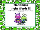 Monstering Sight Words 3
