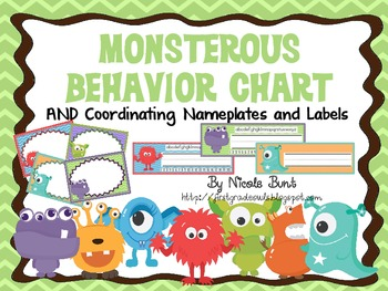 Monsterous Behavior Chart and More