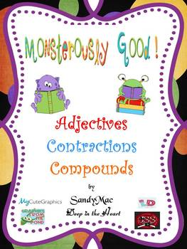 Monsterously Good Adjectives, Contractions and Compounds
