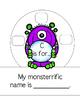 Monsterrific Alphabet Hats