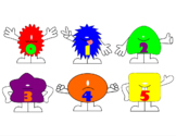 Monsters 0-5 Counting Activity or File Folder Game