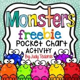 Monsters (A FREEBIE Pocket Chart Activity)
