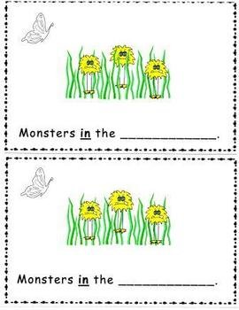 Monsters! A Rhyming Emergent Reader
