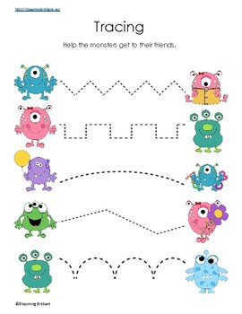 Monsters Activity Pack
