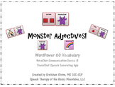 Monsters Adjectives for WordPower60 Vocabulary - AAC
