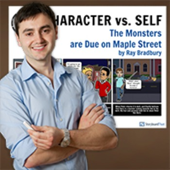 Monsters Are Due On Maple Street: Literary Conflict - Character vs. Self Poster