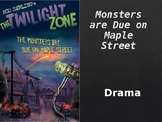 Monsters Are Due On Maple Street Unit Lesson