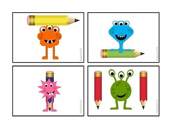 Prepositions:  Monster Style!