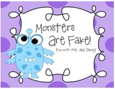 Monsters Are Fake -ake word family