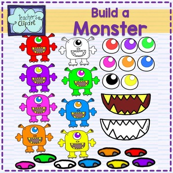Create / Build a Monster Clip Art