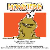 Monsters Cartoon Clipart