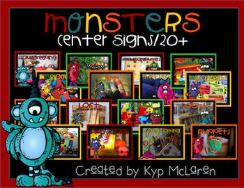 Monsters Center Signs