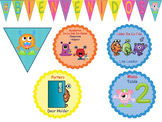 Monsters Classroom Decor Theme