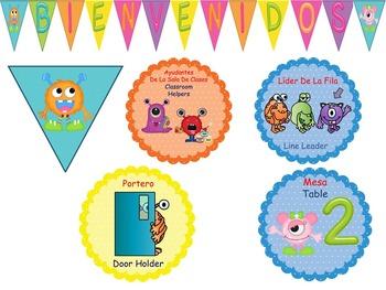 Monsters Classroom Decor Theme