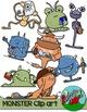 Monsters Clip art - Monster Colors
