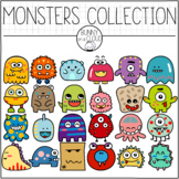 Monsters Collection Clipart Set