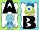 Monsters College Alphabet