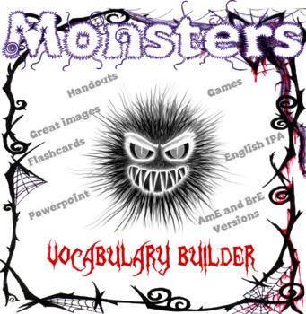 Monsters ESL / EFL Vocabulary Builder - English+Chinese