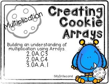 Monsters Eating Cookies - Arrays to Understand Multiplication