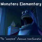 Monsters Elementary Classroom Transformation