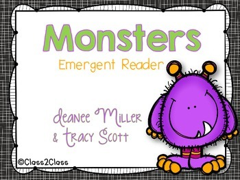 Monsters; Emergent Reader