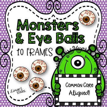 Monsters & Eyeballs 10 Frames