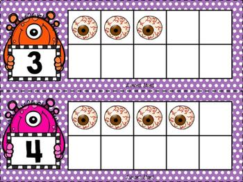 Monsters & Eyeballs 10 Frames