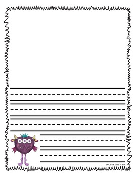 Monsters Galore {Math & Literacy Activites}