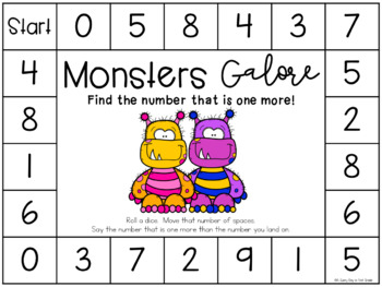 Monsters Galore {one less & one more!}