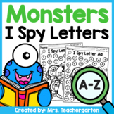 Monsters I Spy Letters A-Z