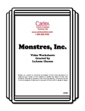 Monsters, Inc. Activity Worksheets for French - Digital Files