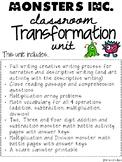 Monsters Inc. Classroom Transformation Unit