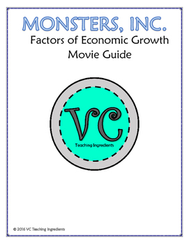 Monsters, Inc. Factors of Economic Growth Movie Guide