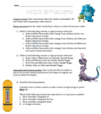 Monsters Inc. Grammar Review and Practice // PSSA Review