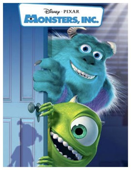 Monsters Inc. - Math Movie Questions