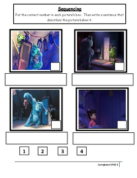 Monsters, Inc.: Movie Buddy and Lesson Plan