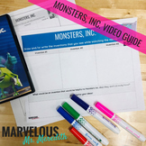 Monsters, Inc. Movie Graphic Organizer