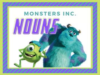 Monsters Inc. Nouns