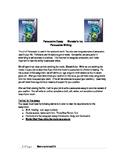 Monsters Inc. Persuasive Writing