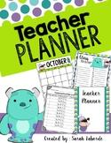 Monsters Inc. Teacher Planner (Disney)