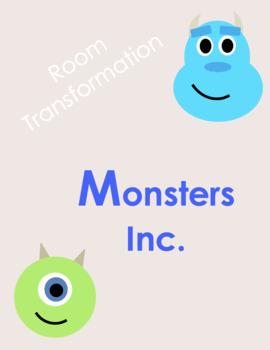 Monsters Inc. Transformation Unit