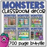 Monsters Ultimate Classroom Decor Set
