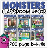 Monsters Ultimate Classroom Decor Set Bundle