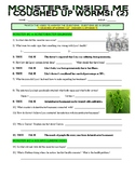Monsters Inside Me : I Coughed Up Worms 2! (biology video worksheet)