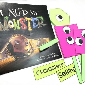 Monsters - Kindergarten Interactive Read Aloud