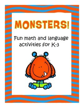 Monsters! Language and Math Activities for Grade 1 and Grade 2