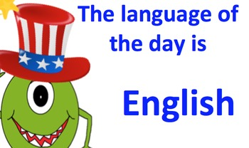 Monsters Language of the day