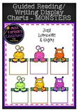 Monsters Literacy Group Display Charts